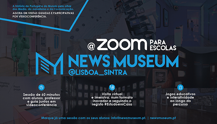 NEWSMUSEUM @ZOOM PARA AS ESCOLAS
