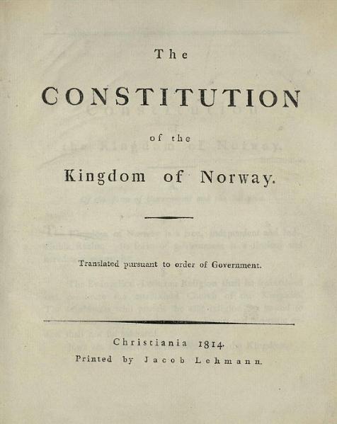 Constituição Noruega
