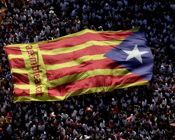Catalunha luta pela independência 2017